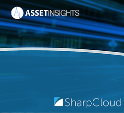 Asset Insights transport and infrastructure event with SharpCloud